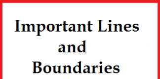Lines and Boundaries