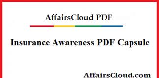 Insurance Awareness PDF Capsule