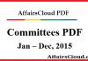 Committees 2015