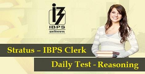 IBPS Clerk Prelims: Reasoning Day 15