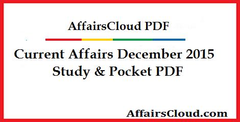 Current-Affairs-December-2015-PDF