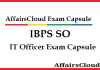 IBPS SO IT Officer Capsule by AffairsCloud