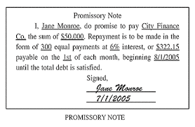 An Example Of Promissory Note: Promissorynote  Example Of Promissory Note