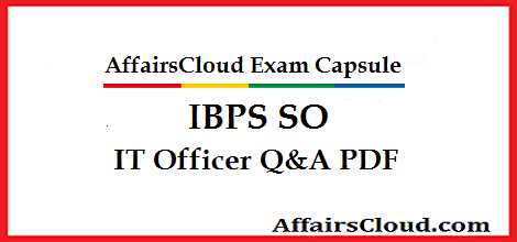 IBPS-SO-IT-Officer-Questions-by-AffairsCloud