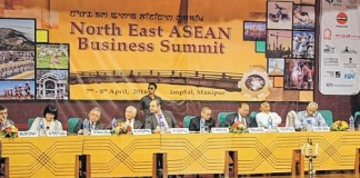 NE-ASEAN Business Summit commenced in Imphal