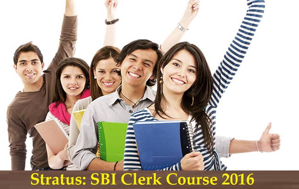 Stratus - SBI Clerk Course 2016