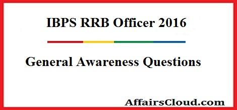 IBPS RRB MAin GK Questions