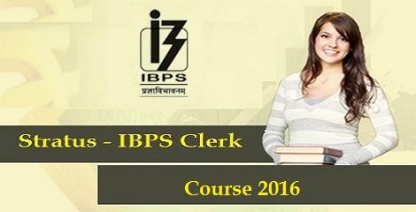 Stratus-IBPS-Clerk-Course-2016