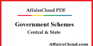 Government Schemes - Central & State