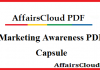 Marketing Awareness PDF