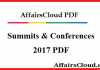 Summits & Conferences