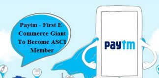 Paytm - First E-Commerce Giant To Become ASCI Member