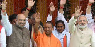 Yogi Adityanath Takes Oath as Chief Minister of Uttar Pradesh