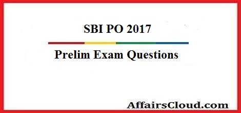 sbi-po-prelim-questions 2017