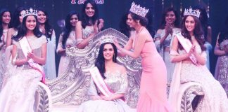 Manushi Chhillar from Haryana wins the title of Miss India 2017