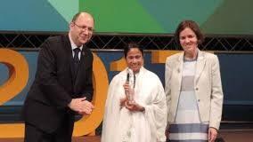 UN honours Mamata Banerjee with highest public service award