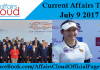 Current Affairs Today - July 9 2017