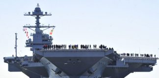 World's largest supercarrier USS Gerald R Ford commissioned in USA