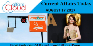Current-Affairs-Today-August-17-2017
