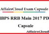 IBPS RRB Main 2017 PDF