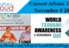 Current Affairs Today- November 5 2017