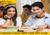 IBPS Clerk Course 2017 - English Test