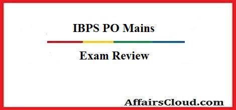 ibps-mains-review