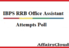 ibps-rrb-oa-attempts poll