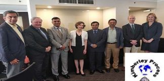 India selected as Chair of Ad Hoc Committee of Kimberley Certification Scheme