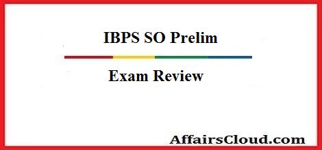 ibps-so-prelim-review