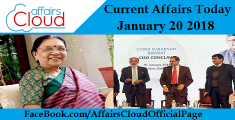 Current Affairs Today - January 20 2018