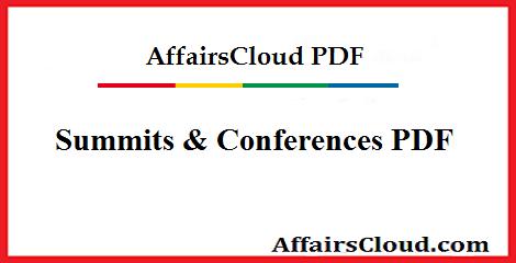 Summits & Conferences PDF