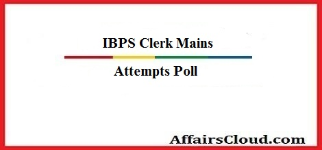 ibps-clerk-mains-attempt-poll