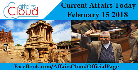 Current Affairs Today - February 15 2018