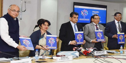 NITI Aayog launches 'Healthy States Progressive India Report'_ Kerala, Punjab, Tamil Nadu best performers