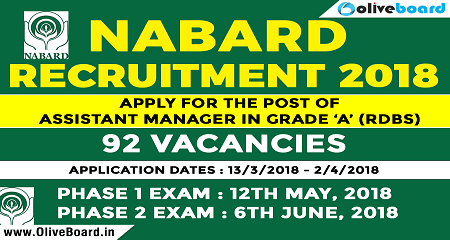 NABARD Recruiotment 2018 Img