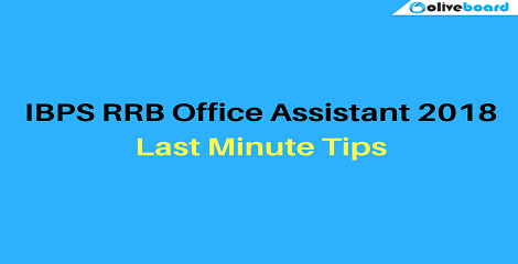 IBPS-RRB-Office-Assistant tips 2018