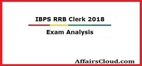 ibps-rrb-clerk-2018-exam-analysis