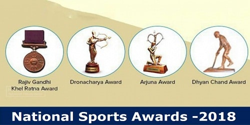 National Sports Awards -2018