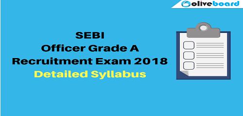SEBI-Syllabus 2018
