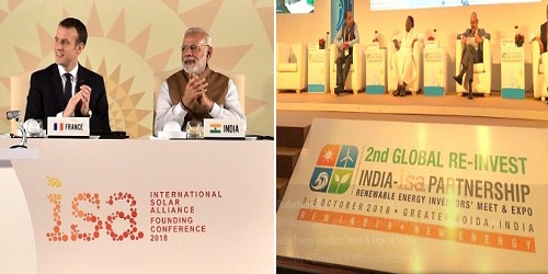 First assembly of ISA, Second ministerial of IORA and Second REINVEST meet to be held in India