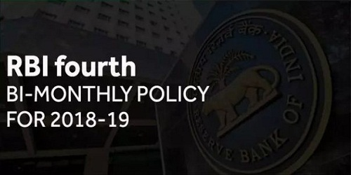 Fourth Bi-monthly Monetary Policy announced; RBI keeps policy rates unchanged