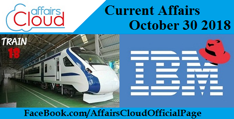 Current Affairs October 30 2018