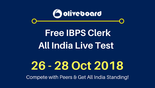 IBPS-Clerk-All-India-Live-Test oliveboard
