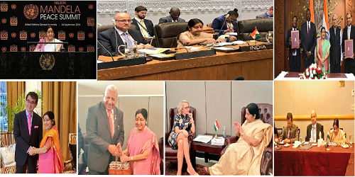 Overview of EAM Sushma Swaraj's Visit to New York USA