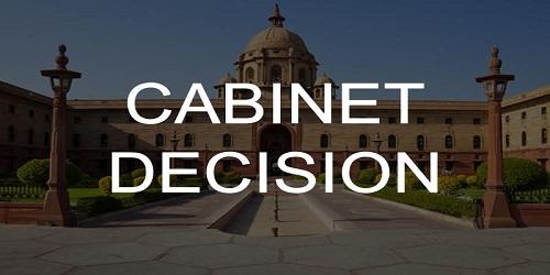 Cabinet Approvals on November 1, 2018