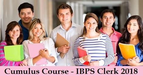 Cumulus Course - IBPS Clerk 2018