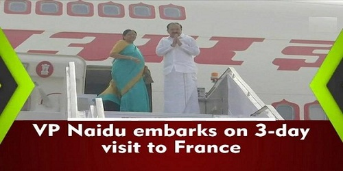 Overview of 3-day visit of Vice President of India to France