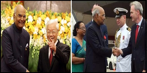 Overview of President Ram Nath Kovind's 7-day maiden visit to Vietnam & Australia