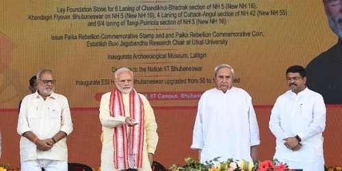 Overview of Prime Minister Narendra Modi's one-day long visit to Odisha
